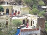 Algunas de las casitas que puedes ver desde el fuerte