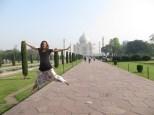 Parece ser que ver el Taj Mahal me dio fuerzas! Tendríais que haberme visto el día anterior :P