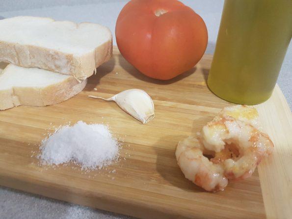 Salmorejo de Calabaza ingredientes