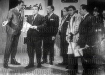 Junta Directiva de la barra del Deportivo Municipal, en 1969