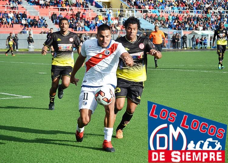 Diego Mayora. Muni luchó pero cayó en Cajamarca. Foto: LOSLOCOSDESIEMPRE/ Raúl Oscco