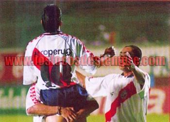 Gol de Paolo Maldonado a Alianza. Foto: Cortesía Revista Once.