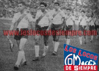 Deportivo Municipal enfrentó a Sao Paulo en 1959. Foto: Cortesía Diario La Crónica