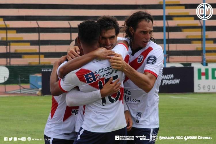 Muni ganó 3-0 a Cantolao. Foto: Cortesía Prensa CDM