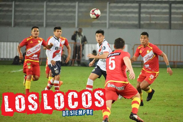 Municipal se impuso 1-0 al Sport Huancayo. Foto: LOSLOCOSDESIEMPRE/Enzo Mori