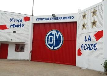 Nuevo centro de entrenamiento en Huachipa