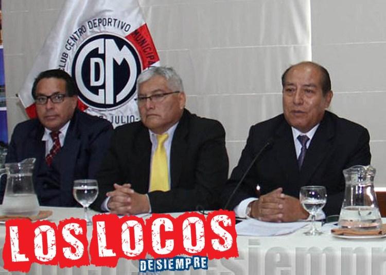 Samuel Astudillo postula a la presidencia. En la vista el candidato Pepe Gordillo y Víctor Salcedo