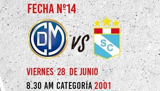 La Sub-18 del Deportivo Municipal venció 3-1 a S. Cristal