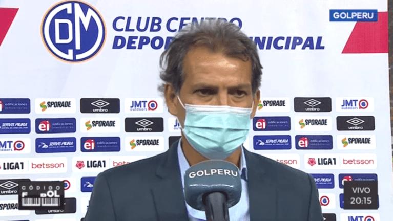"""Franco Navarro: """"Somos un equipo que está en formación"""""""