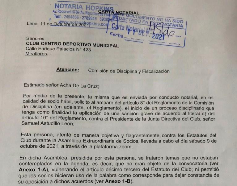 Impugnan asamblea y piden suspensión de Astudillo ante Comisión de Disciplina