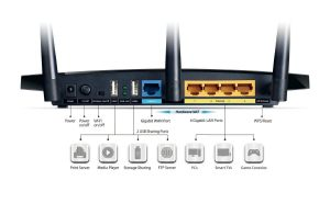 Router TP LINK TL WDR4300 2