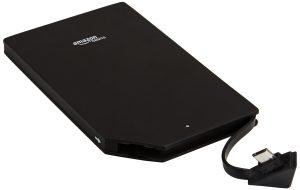 cargador de batería móvil externo en Amazon 2000 mAh