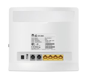 router 4G Huawei B593 - parte trasera