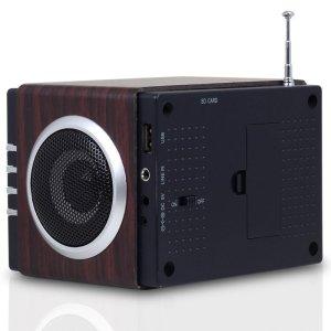 Radio FM MP3 - parte trasera