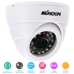 KKmoon HD 1200TVL Cámara de Vigilancia