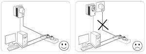 Conectar el kit PLC TP-Link TL-PA4010P 2