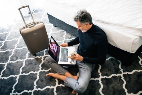 Conexión Internet en Hoteles y de viaje