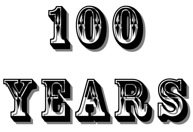 100 Years Word Pictures