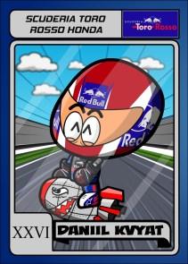 Scuderia Toro Rosso - Daniil Kvyat