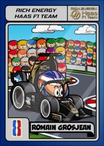 Rich Energy Haas - Romain Grosjean