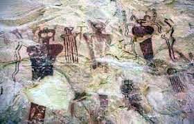los Hopi y sus dibujos de los dioses.