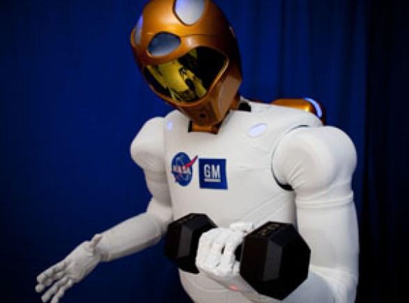 El Centro Espacial Johnson de la NASA, la General Motors y la Oceaneering, han creado EL ROBOT HUMNAOIDE DEL ESPACIO.