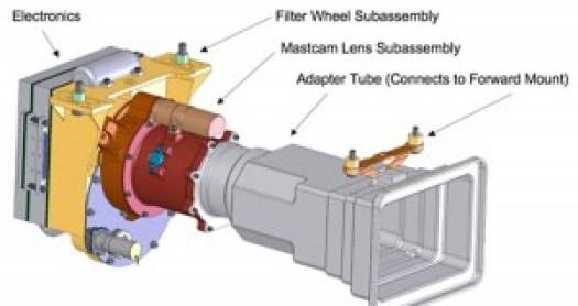 La cámara utilizada para la realización de las imágenes que aporta NASA.