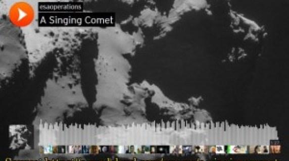 La Canción del Cometa. Singin Comet.