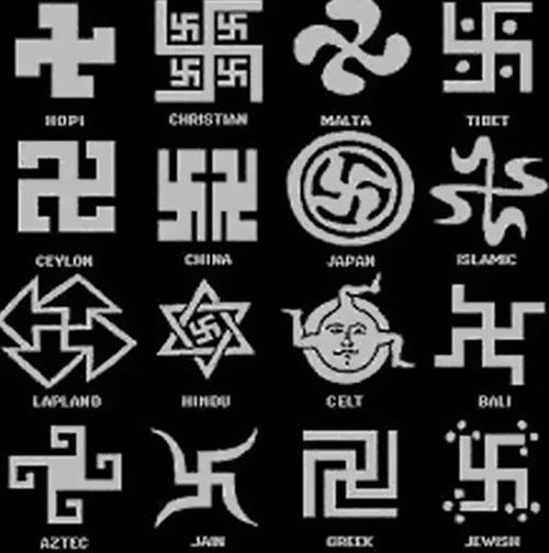 Símbolos Divinos La Esvástica O Cruz Gamada Más De 12000 Años