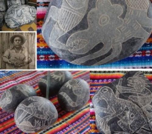 Piedras de ICA un reflejo de la coexistencia humana y homo reptil en época prehistórica.