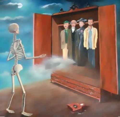 La reencarnación de las almas que eligen sus siguientes vidas.