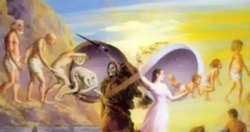 El proceso de reencarnación que por toda la tierra llegaron a las distintas culturas ancestrales.