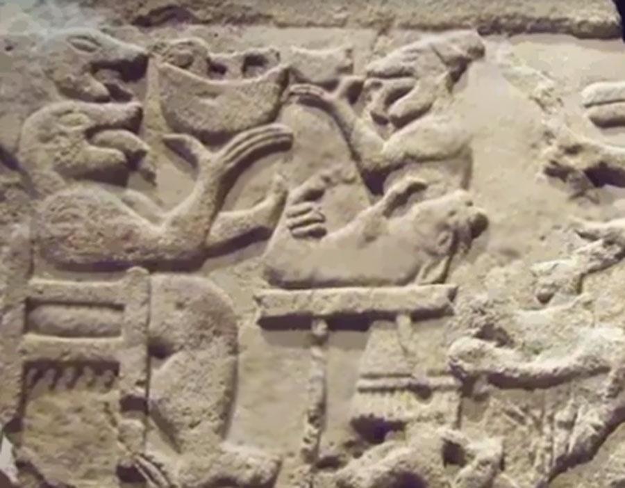 1-Nomoli de Sierra Leona; 17.000 años de antigüedad