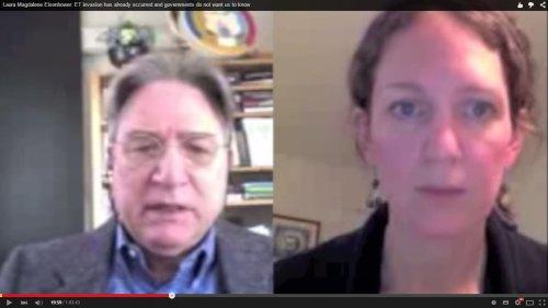 Chanel VancouverBC, presentado por Alfred Webre Lambremont en ExopoliticsTV, entrevistó a Laura Magdalena Eisenhower.