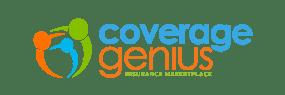coverage genius base logo retro