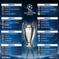 UEFA sortea los grupos de la Champions League 2017-2018