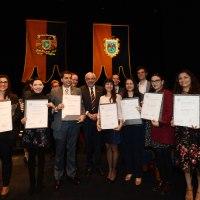 Académicos e investigadores reciben el premio Universidad Nacional