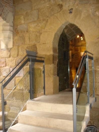La puerta de la torre del homenaje