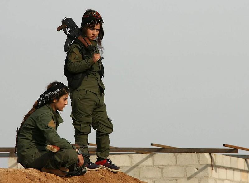 delle combattenti in Siria