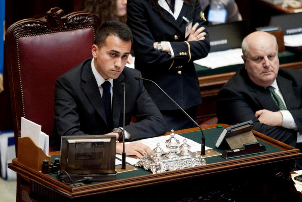 Camera dei Deputati - Voto di fiducia al nuovo governo
