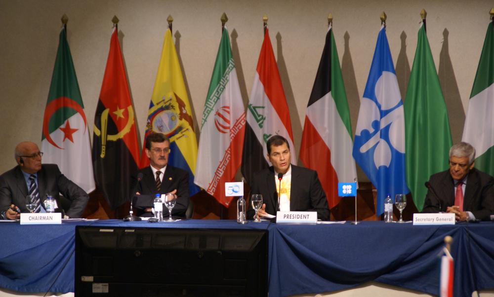 La foto della riunione dell'OPEC del 11 dicembre 2010