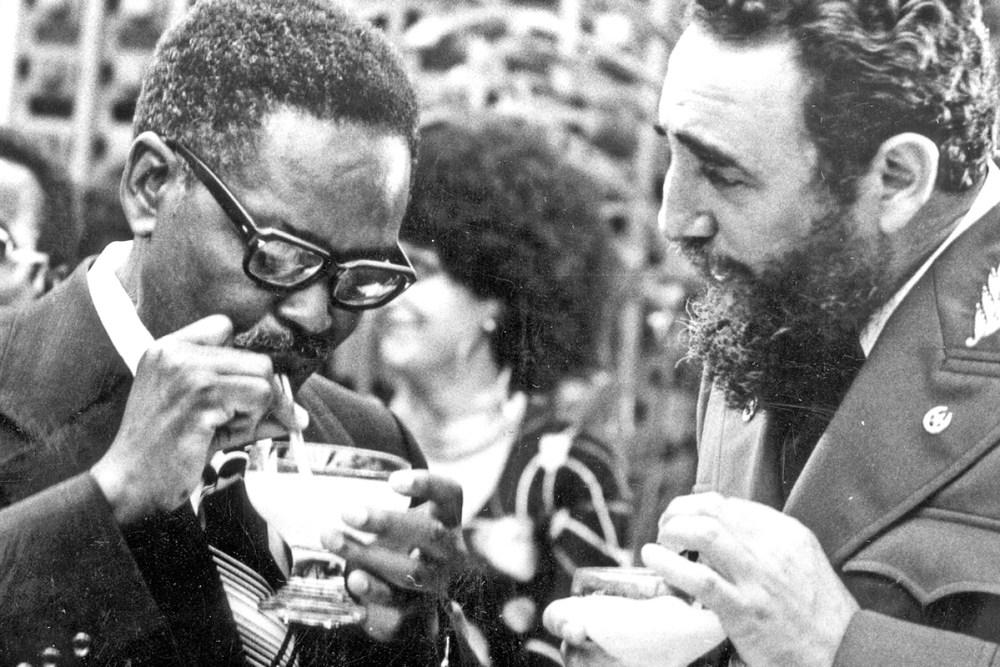 Agostinho-Neto-Fidel-Castro