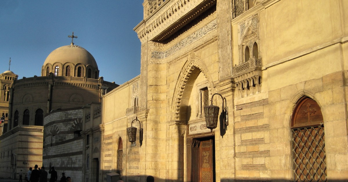 chiesa copta - cairo