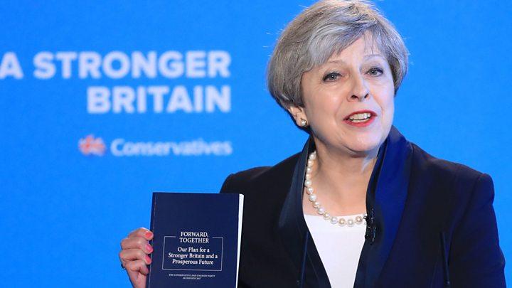 elezioni - UK - GB - 2017 - Conservatori - Thresa May - programma - sondaggi - Corbyn (2)