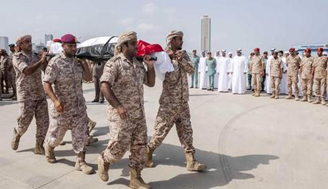 UAE Confirms More Soldiers Death Toll in Yemen