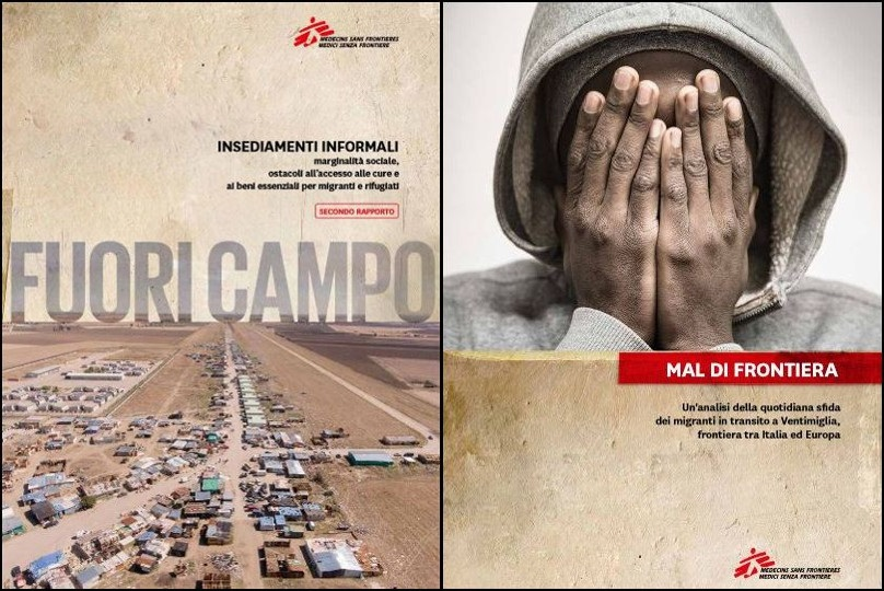 migranti medici senza frontiera