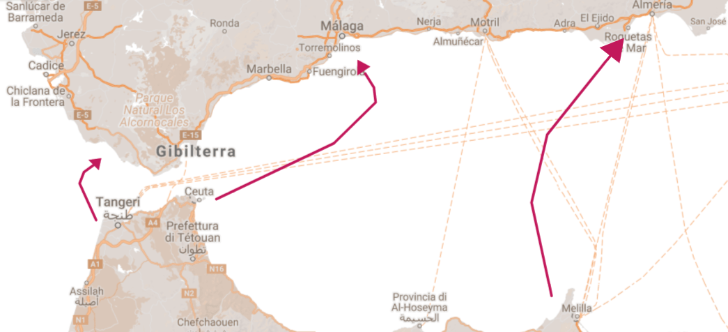 Ceuta Melilla Tangeri