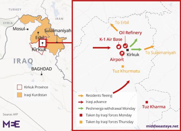 Kirkuk-map