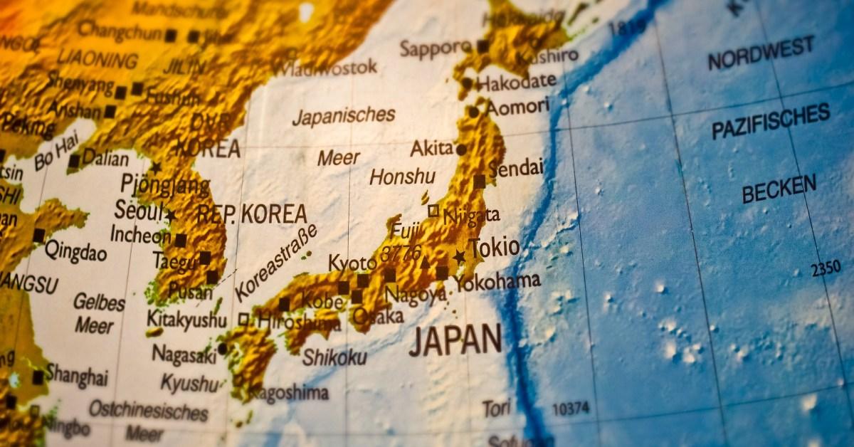 Japan NK map