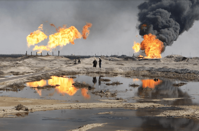 Oil field in Basra